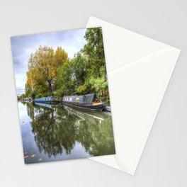 Narrow Boats Little Venice London Stationery Cards