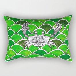 Mandala crab Rectangular Pillow