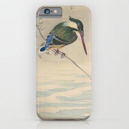 Kingfisher - Ohara Koson (ca. 1920) iPhone Case