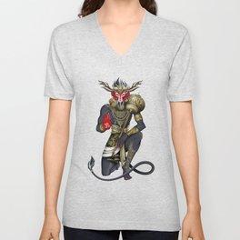 Hanuman Unisex V-Neck