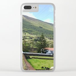 Azores Island Home Clear iPhone Case