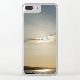 Veil of Cloud Clear iPhone Case