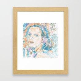 Chouchou 11 Framed Art Print