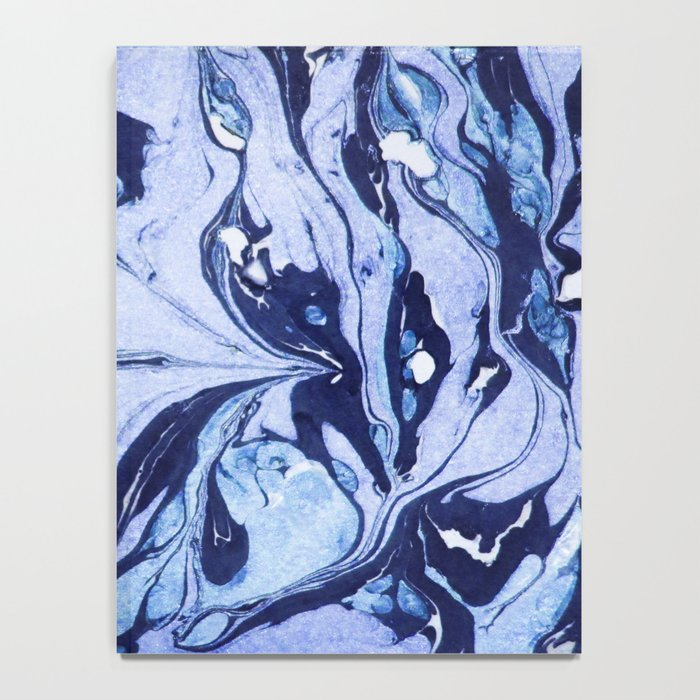 Dark and Bright and Blue Notebook