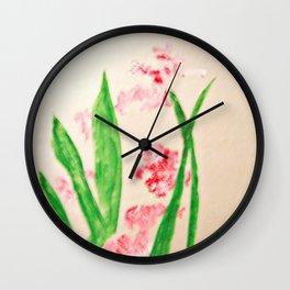 Spring Memories Wall Clock