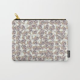 Giant money background 50 pound notes / 3D render of thousands of 50 pound notes Carry-All Pouch