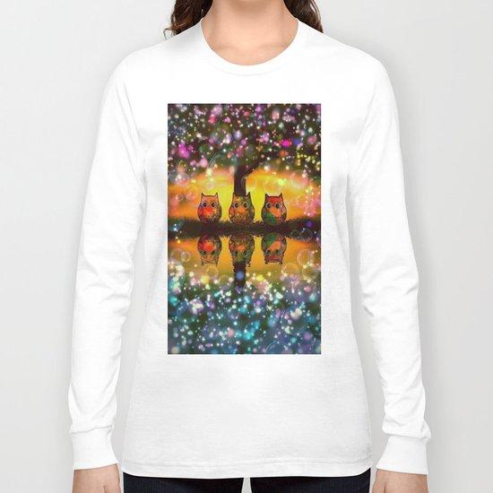 gorgeous owl-267 Long Sleeve T-shirt