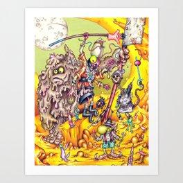 Low Life Adventurerers Art Print