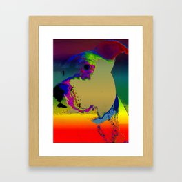 PITTY PAT Framed Art Print