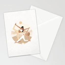 Don't compare yourself to others. They shine when it's their time. Stationery Cards
