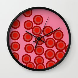 Connect 4 Wall Clock