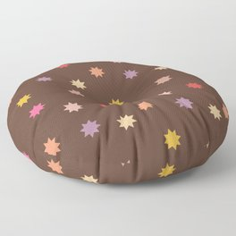 All Over Star Boho Graphic Pattern Floor Pillow