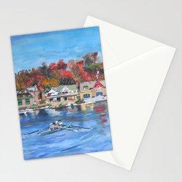 Boathouse Row, Philadelphia Stationery Cards