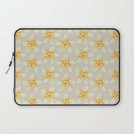 Yellow Flower, Floral Pattern, Yellow Blossom Laptop Sleeve