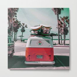 Welcome Back Summer Metal Print