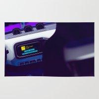 volkswagen Area & Throw Rugs featuring Volkswagen Taigun inside by Mauricio Santana