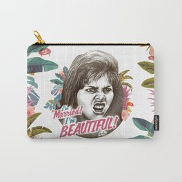 I'M MARRIED I'M BEAUTIFUL Carry-All Pouch