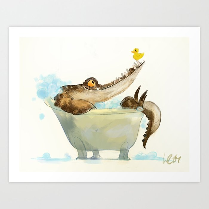 bath Kunstdrucke