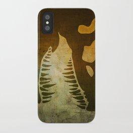 Jurassic Minimalist iPhone Case
