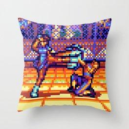 Chun Li vs. Vega Throw Pillow