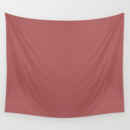 PANTONE 18-1630 Dusty Cedar Wall Tapestry