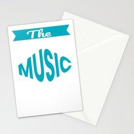 The Legendary Music Teacher Retirement Gift Design Stationery Cards