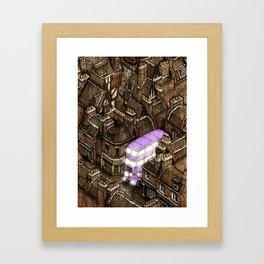 Diagonally 2/2 Framed Art Print