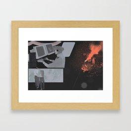 COASTGUARD Framed Art Print