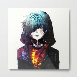 Kaneki Ken Great5 - TOkyo Ghoul Metal Print