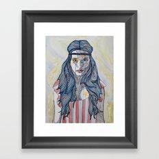 American Rocker Framed Art Print