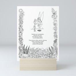 Fairy Poem Mini Art Print