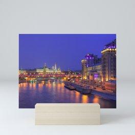 Electric Nights in Moscow Mini Art Print