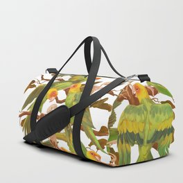 The extinction of the Carolina Parakeet. Duffle Bag