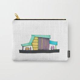 Retro Auto Shop Illustration 101 Carry-All Pouch