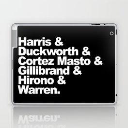 nasty women: senators (w) Laptop & iPad Skin