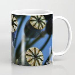 Poppy Flower Pods Bouquet Coffee Mug