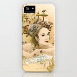 Animal princess iPhone Case