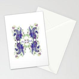 Free like Free birds Stationery Cards