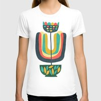 plant T-shirts featuring Potted Plant 3 by Picomodi