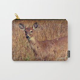 Doe in the field Carry-All Pouch
