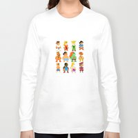 street fighter Long Sleeve T-shirts featuring 8 Bit Street Fighter by thedoormouse