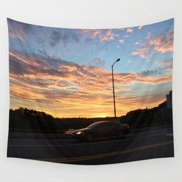 Speeding Towards the Sun Wall Tapestry