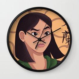 Fa Mulan Wall Clock