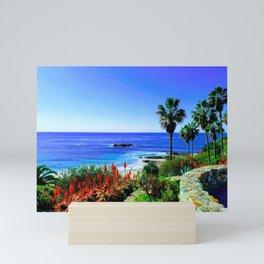 Tropical Scenic Overlook Mini Art Print