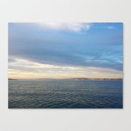 Bear Lake Sunset Canvas Print