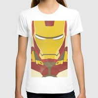 iron man T-shirts featuring IRON MAN by LindseyCowley