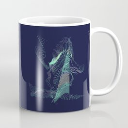 The Minty Fresh Witch Abstract Coffee Mug
