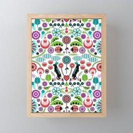 Scandinavian Inspiration (White) Framed Mini Art Print