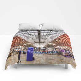 Paddington Station London Comforters