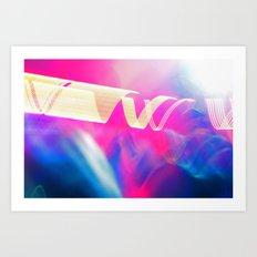 HI LIGHT III Art Print
